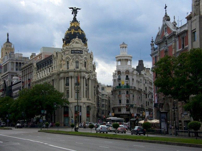 Tour departure from Gran Vía