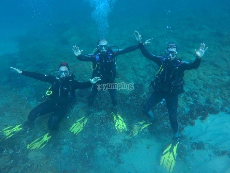 巴塞罗那2天潜水课