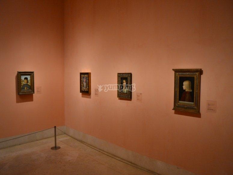 Visiting Thyssen Museum in Madrid