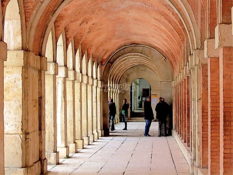 Arquitectura exterior del palacio real