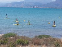 Pack gruppi kayak e paddle surf Cullera 3 ore