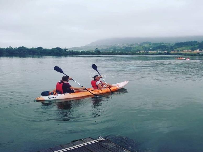 Canoas dobles