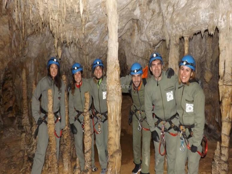 Excursión a la cueva