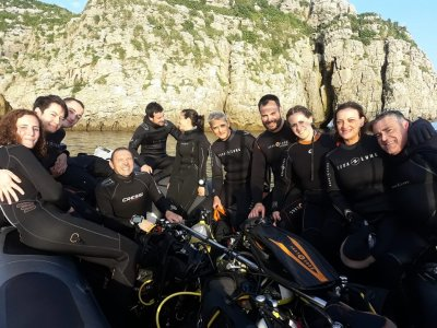Scuba-diving baptism 3 hours in Cantabria