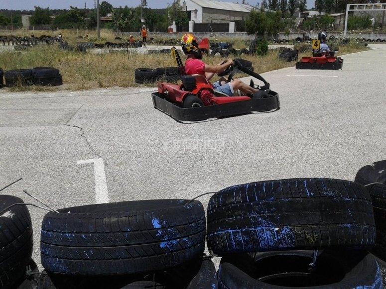 Tanda de karting