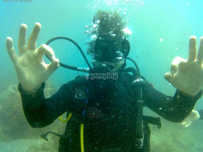 马拉加潜水课程