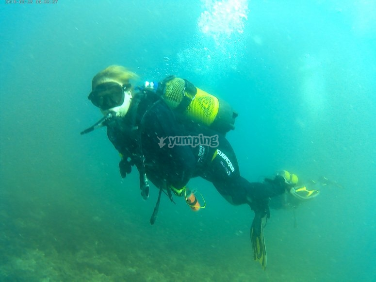 马拉加露天水域潜水