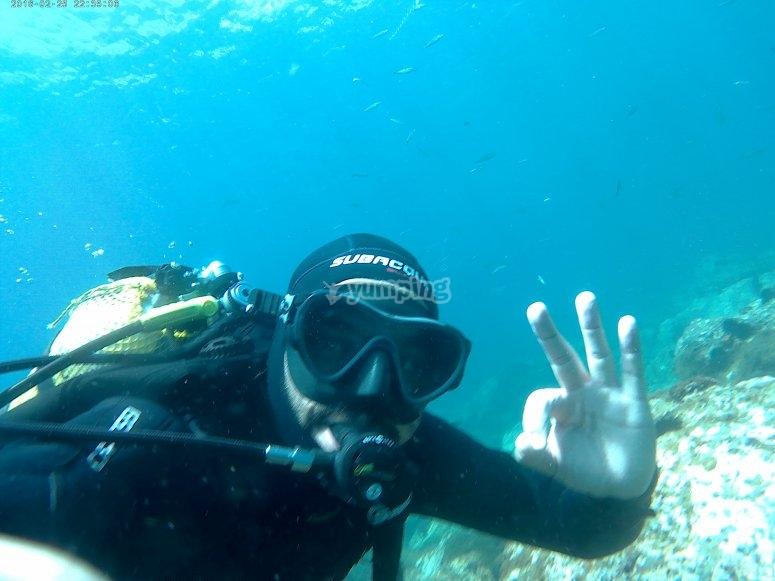 拉黑拉杜拉海滩潜水