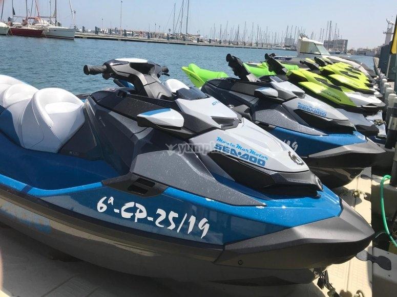 Motos de agua Sea.Doo