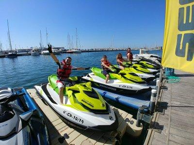 Excursión moto de agua en Grao de Castellón 40 min