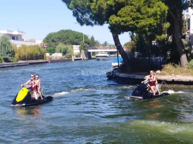 布拉瓦海岸威尼斯水上摩托艇