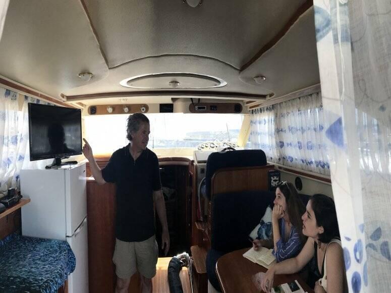 Buceo desde barco en Arona