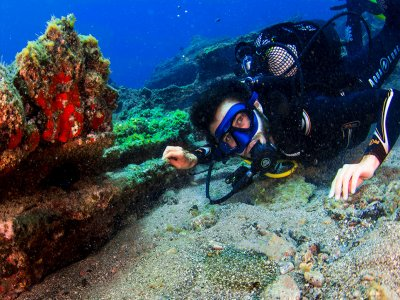 Open Water Diver OWD PADI course in Arona