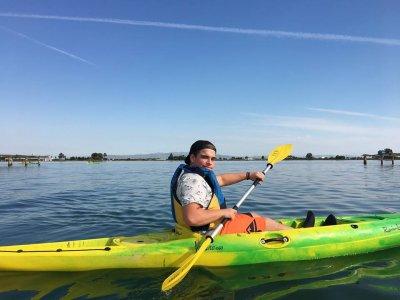 Alquiler de kayak Sant Carles Delta del Ebro 3 h