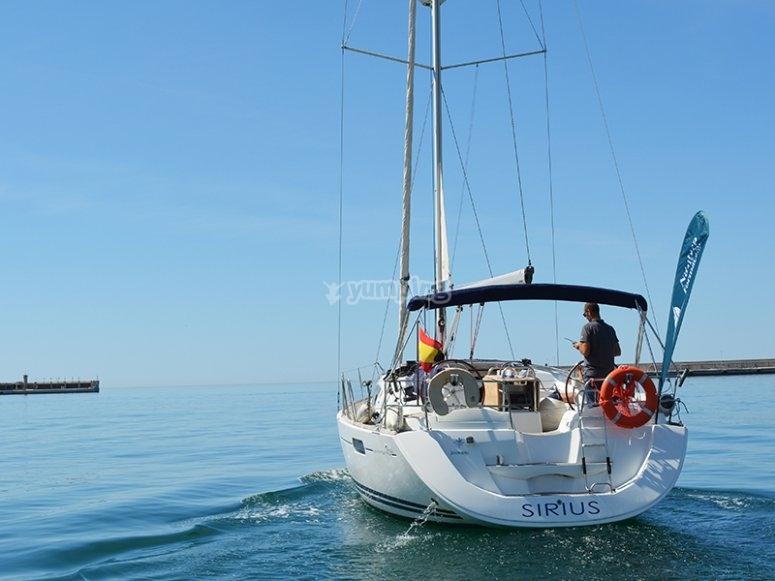 Excursión en velero desde bahía de Málaga