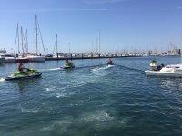 Circuito en moto de agua Marina Port Castelló