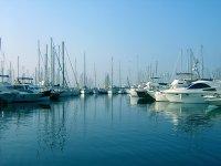 Port in Malaga
