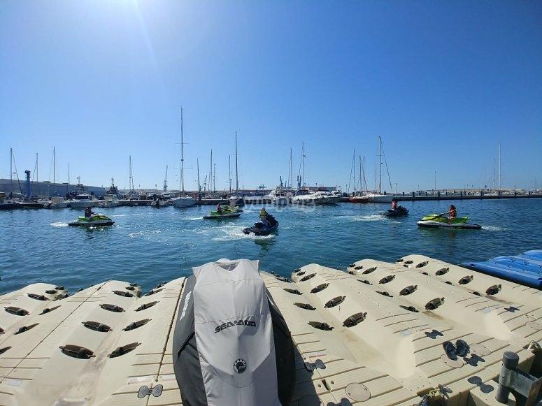 Excursiones en motos de agua en Castellón