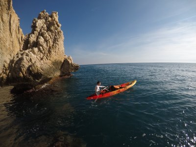 Round route to Ifach Rock and Snorkel