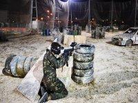 Circuito de paintball con trincheras