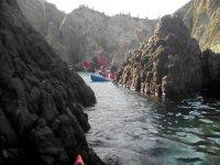 Recorrido en kayak en Cabo de Gata