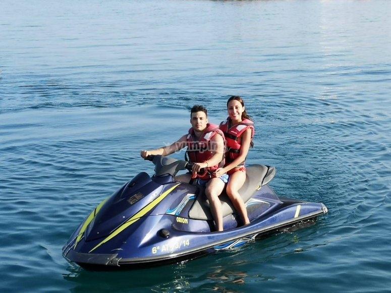 Ruta en moto de agua Cabo de Gata