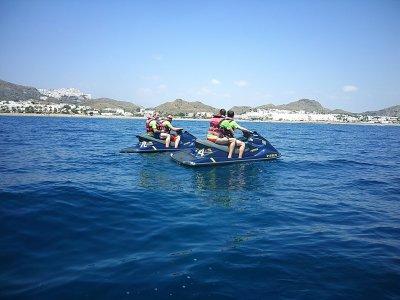 包装组moto de agua y香蕉船Garrucha