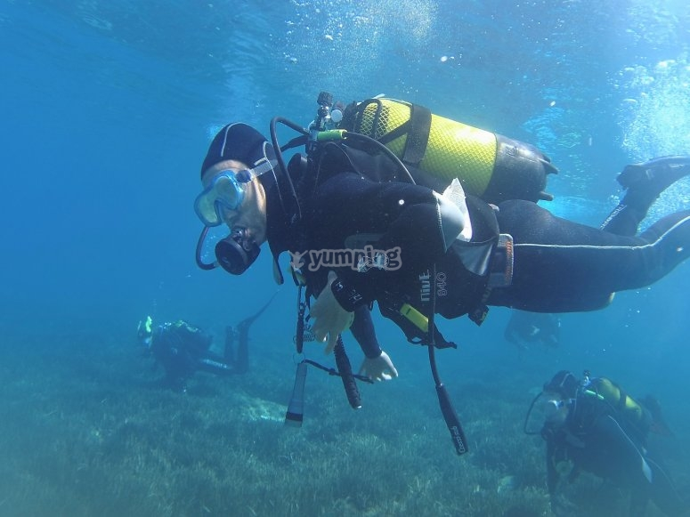 Submarinismo de iniciación en Gran Canaria