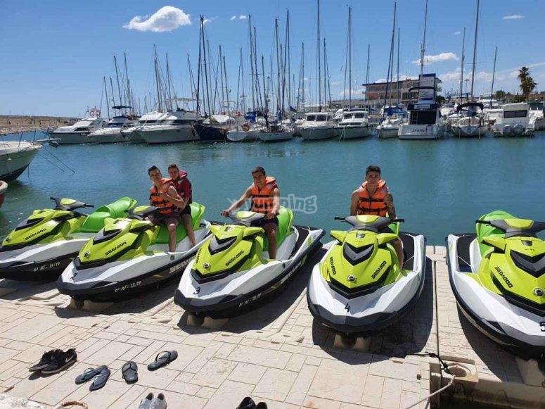 水上摩托艇-甘迪亚港