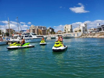 Jet ski tour Gandía to Oliva or Cullera 2 hours