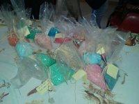 saquitos de aromas de colores