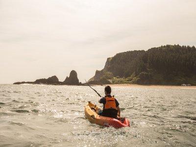 Percorso in kayak attraverso le scogliere di Geopark 3h