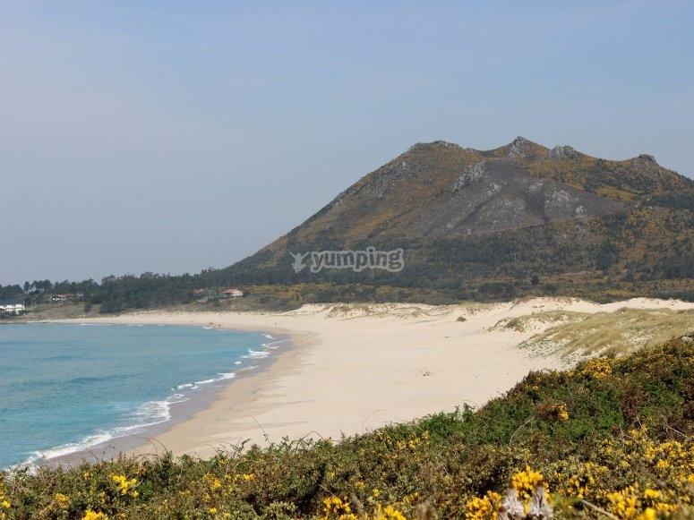North Coast of Galicia from plane