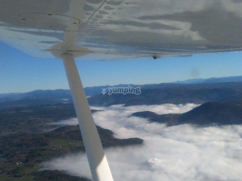 在拉科鲁尼亚的飞行经验