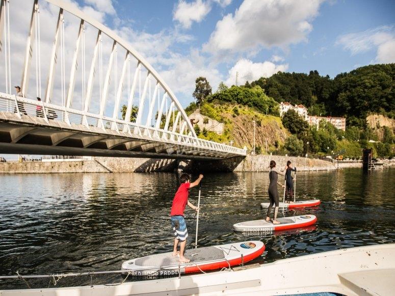 Ondarroa paddle surf equipment rental