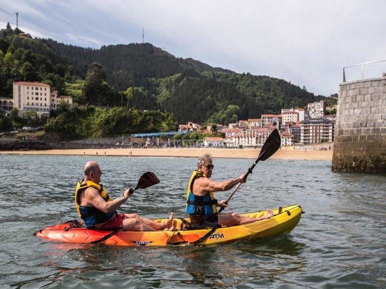 Alquiler kayak doble Ondarroa