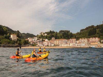 Alquiler kayak doble en la Costa Ondarroa