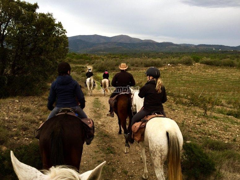 Campo de Granada a caballo