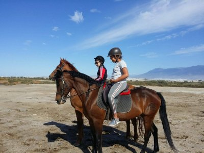 Horse riding trip Roquetas de Mar children 1 hour