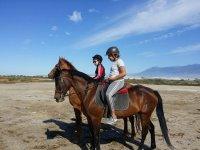 骑马Roqueta de Mar儿童1小时