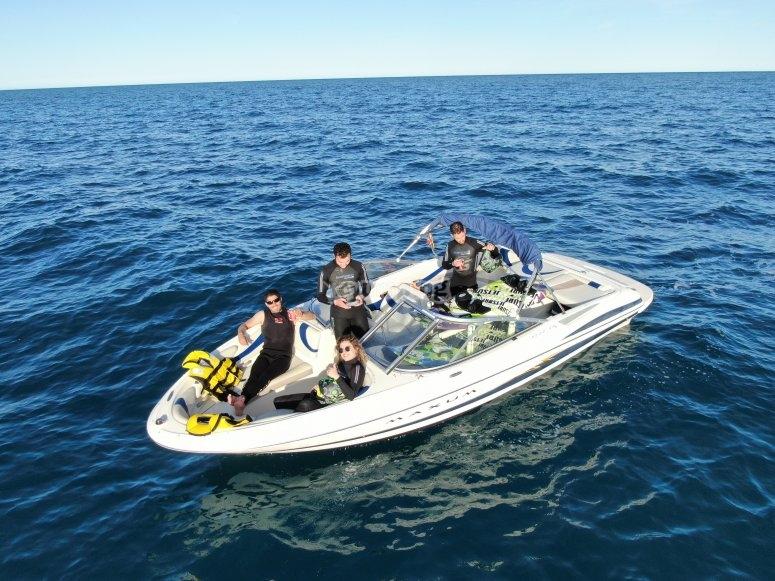 Boat trip to Cabo San Antonio