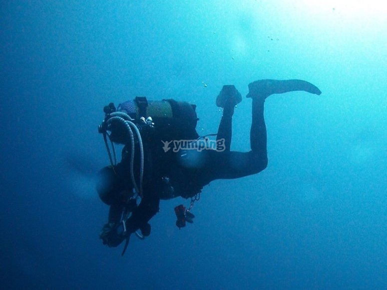 高级潜水学位