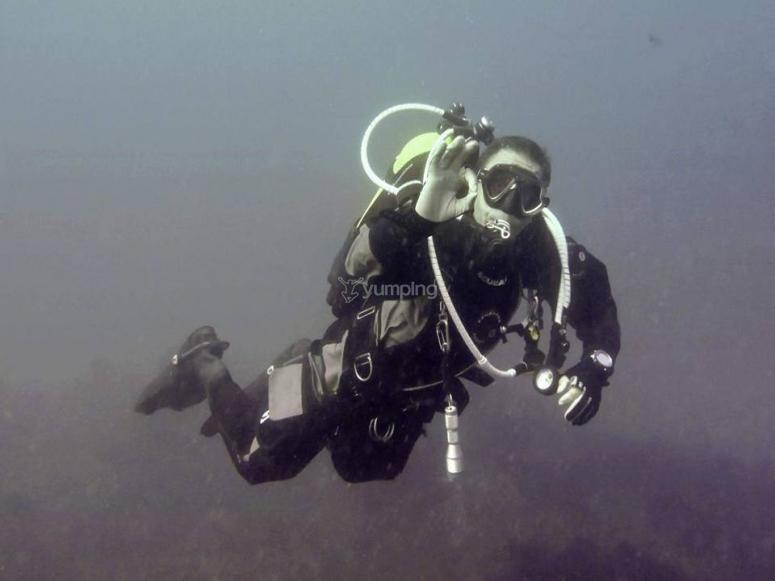 在单程WDW潜水员的路线