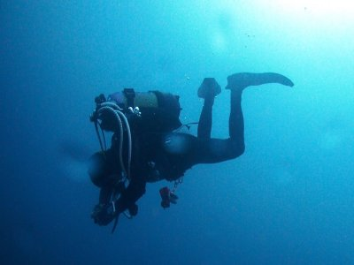 Open Water Diver diving title in Requejada