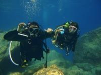 在坎塔布连海的潜水路线