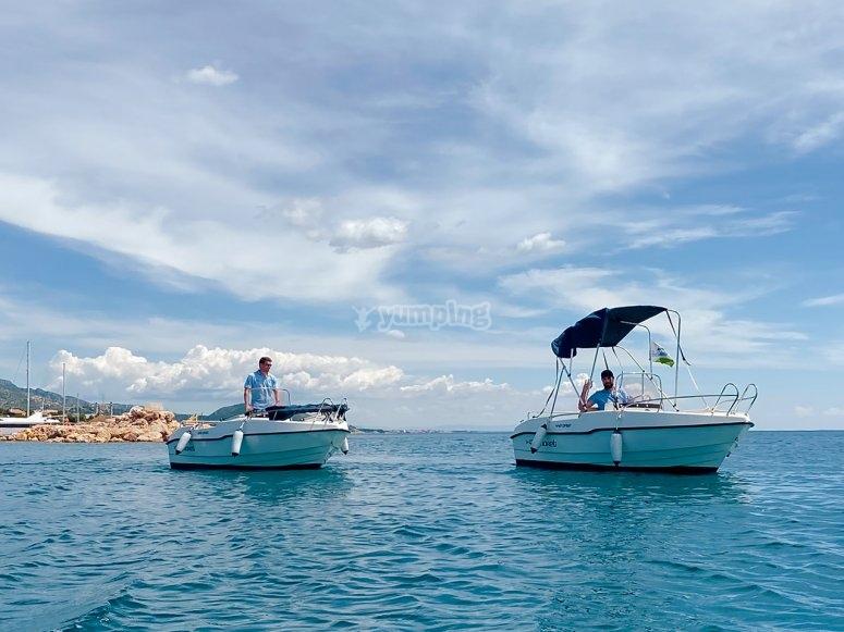 Embarcaciones sin titulación