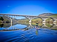 Cruzando el rio salmantino