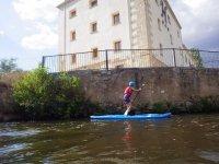 Sup en agua dulce en Salamanca