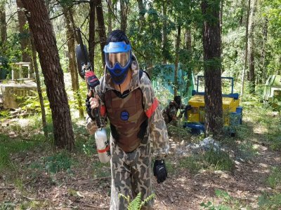 Paintball addio 300 palline e 400 fidanzato Camanzo