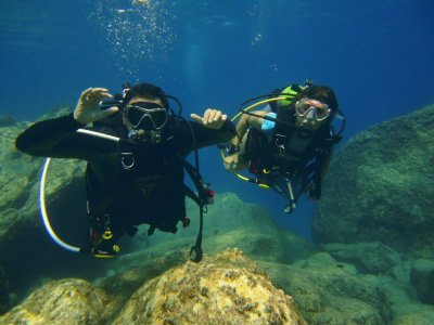 Nitrox specialization diving course in Requejada